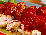 Sweet-N-Sour Turkey Meatballs
