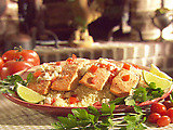 Salmon Fillets over Couscous