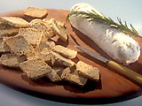 Peppered Rosemary Oat Crackers