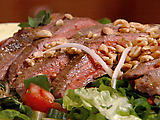 Steak Salad with Peanut-Lime Vinaigrette