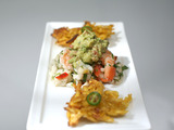 Ceviche with Crispy Plantains