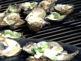 Baked Spinach Butter Oysters