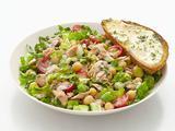 Tuna Salad with Herb Toast