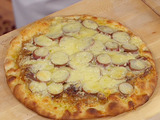 California Style Duck Confit Pizza