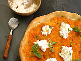 Ricotta and Tomato Pizzas