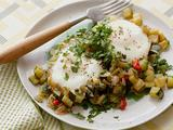 "Zucchini ""Hash Browns"" and Eggs"