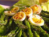 Asparagus with Vin Santo Vinaigrette