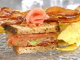 Gravlax Club Sandwich