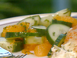 Cucumber Salad with Oranges And Mint