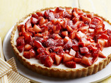 Strawberries-and-Cream Tart