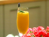 Mango Champagne Aperitif