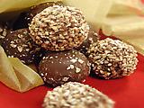 Chocolate Caramel Peanut Truffles