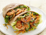 Shrimp-Salad Pitas