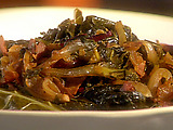 Spicy Braised Greens
