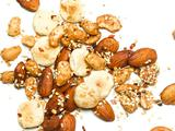 Asian Sesame-Spiced Almonds and Peanuts with Oyster Crackers