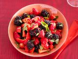 Strawberry Salad With Balsamic-Cardamom Dressing