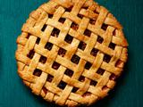 Apple and Dried Fruit Lattice Pie