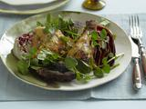Garlicky Grilled Chicken, Portobello, and Radicchio Salad