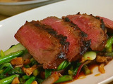 Szechwan-Marinated Flat Iron Steak