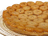 Banana Maple Tart Tatin