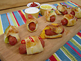 Stuffed Pigs in the Blanket