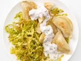 Pierogi with Curried Cabbage