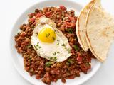 Lentils with Fried Eggs