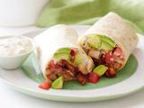 Blackened Shrimp Wrap with BBQ Bacon and Cajun Remoulade