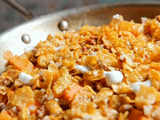 Countdown #10 Stove Top Candied Sweet Potatoes with Crunchy Topping