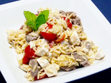 Braised Lamb Orzo Salad