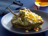 Stuffed Poblanos With Roasted Corn