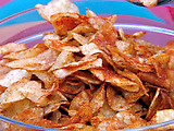 Homemade BBQ Potato Chips with Smoked Paprika