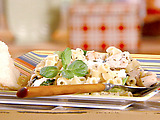 Greek Pasta Salad with Feta and Chicken