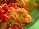 Mustard Fried Catfish with Tomato Relish