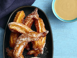 Churros With Coconut Sauce