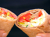 L.O.V.E. Wrap Sandwich (Lettuce, Onion, Vegetable, Egg Salad)