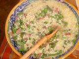 Risotto with Asparagus and Speck
