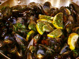 Mussels in a Pepper Broth---Impepata di Cozze