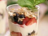 Berry Parfait with Coconut Granola