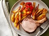 Tuscan Roast Pork With Fennel