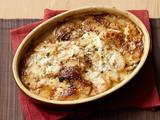 Celery Root, Potato and Pear Gratin