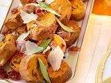 Roasted Sage Sweet Potatoes