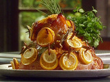Cinnamon-Citrus Glazed Ham