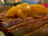 Aunt Peggy's Orange Glazed Ham Steak