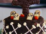 Milk Chocolate Graveyard Cake