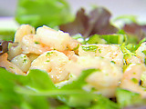 Shrimp Salad with Cucumber and Mint