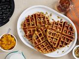 Pumpkin-Chipotle Waffles