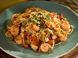 Shrimp and Vegetable Pad Thai