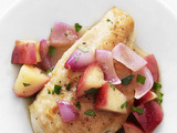 Chicken with Apple, Onion and Cider Sauce