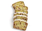 Zucchini Bread With Dried Cranberries and Vanilla Bean Glaze